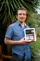Dr Stuart Farrimond with new Guru Magazine mobile app