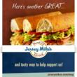 "TALBERT FAMILY FOUNDATION & JERSEY MIKE'S SUBS  TEAM UP FOR MONTH OF GIVING IN MARCH  ""Day of Giving"" March 27"
