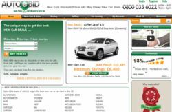 AutoeBid - New car deals service for sale