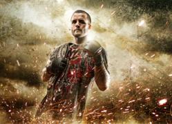 Stephen Jensen Photo of Wornstar Immortals Spokesman and MMA Champ Pat Curran