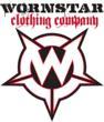 Wornstar Clothing Logo by Designer Stephen Jensen of F3 Studios