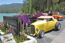 The South Shore Car Show, just one of may special events at Bass Lake, takes place at Mller's Landing. Both Miller's and The Forks Resort are opening for their spring season starting March 29.