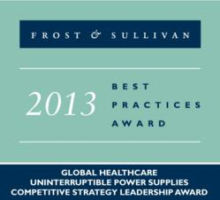 POWERVAR's power quality excellence recognized with the Frost and Sullivan Award