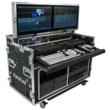 PortaCast Deluxe Flypack Console by Mobile Studios featuring NewTek's TriCaster 855 and 425 Replay System
