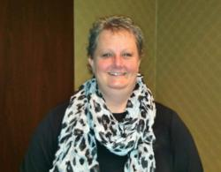 Photo of Jenn Titus taken at Black Mountain Software's recent Users Training at the North Dakota League of Cities Conference
