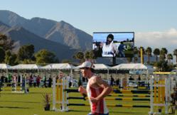 Photo of Lighthouse LED Display at Modern Pentathlon World Cup