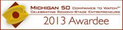 Michigan 50 Companies to Watch Logo