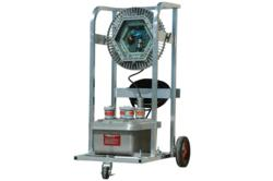 Explosion Proof Transformer and Light Combination Cart