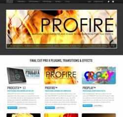 FCPX Fire Plugin - Final Cut Pro X Flame Effects - Composite Footage - ProFire - Pixel Film Studios