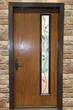 Linea style Pulse door from Therma-Tru.
