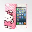 Hello Kitty iPhone 5 Case - Pink stripes