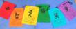 Wholesale Tibetan affirmation flags - Peace, Happiness, Courage, Love, Tranquility