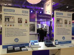 Saypage at Healthcare Innovation Expo 2013