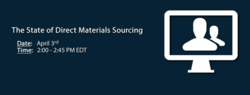 "Co-eXprise to host upcoming webinar, ""The State of Direct Materials Sourcing"""