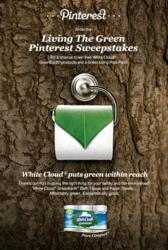 Pinterest users can enter the Living The Green sweepstakes for a chance to win free GreenEarth® products and a Green Living Prize Pack.