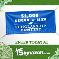 Scholarship Contest - Signazon.com