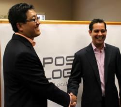 Position Logic founders Felix Lluberes and Hong Long