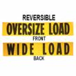 image of 84''x18'' Oversize Load Sign / Wide Load Sign