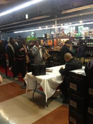 Xzibit Signing Bottles of Bonita Platinum at Merwin Liquors