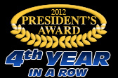 Bill knight ford wins ford motor company 39 s president 39 s award for Ford motor company awards