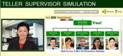 Teller Supervisor Simulation