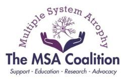 The Multiple System Atrophy Coalition Logo