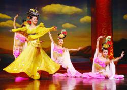 Dancers in China