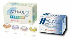 Acuvue Bifocal contact lenses and Acuvue Colours 2 contact lenses are being discontinued