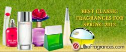 Ultra Fragrances' Classic Fragrances for Spring 2013