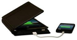 Solar charging iPad mini iPad 4 battery case by Kudo
