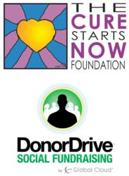 The Cure Starts Now DonorDrive Logos
