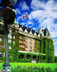 The Fairmont Empress, Victoria, British Columbia Hotel