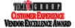 Temkin Group Customer Experience Vendor Excellence Awards
