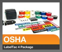 LabelTac 4 OSHA Package