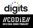 digits Named Finalist in 2013 Software & Information Industry Association CODiE Awards