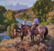 Cowboy Artist Jason Rich Named 2013 Jackson Hole Fall Arts Festival Featured Artist