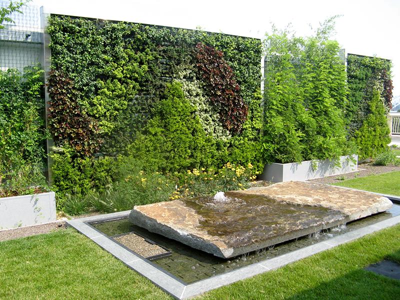 Merveilleux Community Health Center Roof Garden Green Walls ...