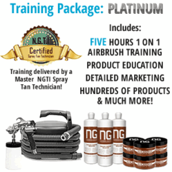 Natural Glow Platinum Spray Tan Business Training Package