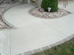 Greenville Wisconsin Concrete Repair by McHughs Decorative Concrete