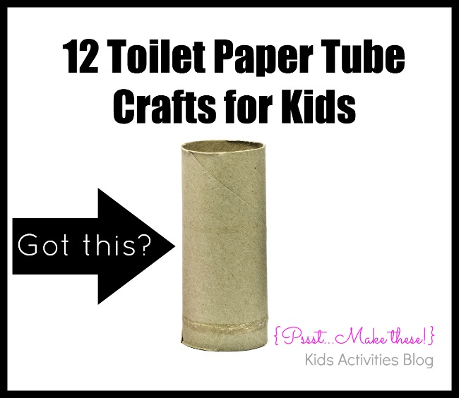 Crafts To Do With Toilet Paper Tubes