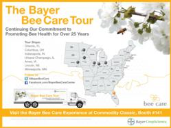 The Bayer Bee Care Tour