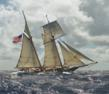 Tall Ship Lynx Pauses in Atlantic Ocean to Honor Fellow Seamen Lost on...