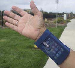 Phubby Wrist Cell Phone Holder Wrist Wallet