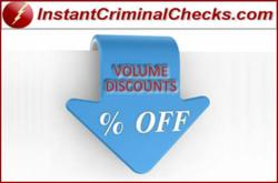Criminal Background Check Discount Pricing