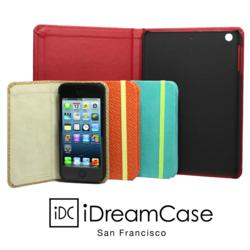 Vibrant 4 new colors of iPhone5 cases and redesigned iPad mini case with tray  are added to iDreamCase family.