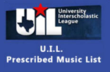 Texas UIL PML sheet music