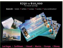 Travel certificates range in value fro $750 to $10,000