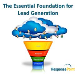 Foundation for building sustainable b2b lead generation programs