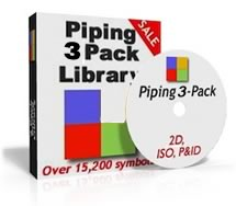 SimpleCAD com's Piping 3 Pack symbols promise faster