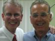 """Coach"" William Baiocchi (r) with Dr. Randolph Kinkade (l)"